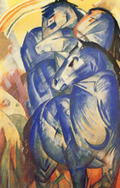 Marc, De toren van blauwe paarden