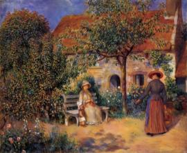 Renoir, Tuinscene in Bretagne