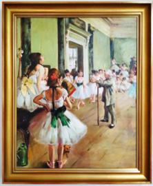 Degas, Dansklas , ingelijst