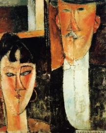 Modigliani, Bruid en bruidegom