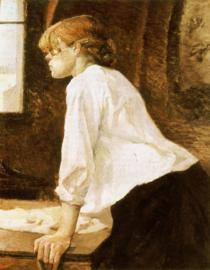 Toulouse-Lautrec, De wasvrouw