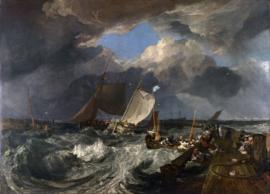 Turner, De pier van Calais