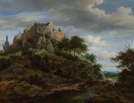 Van Ruisdael, Gezicht op kasteel Bentheim