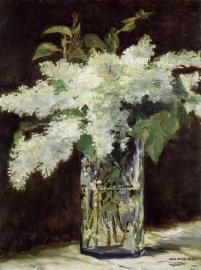 Manet, Bloemen in een vaas