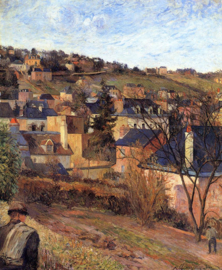 Gauguin, Blauwe daken van Rouen