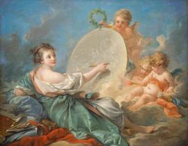 Boucher, Allegorie van de schilderkunst