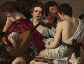 Caravaggio, De muzikanten