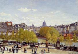 Monet, Quai du Louvre