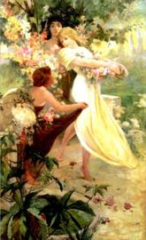 Mucha, De geest van de lente