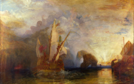 Turner, Odysseus bespot Polyphemus