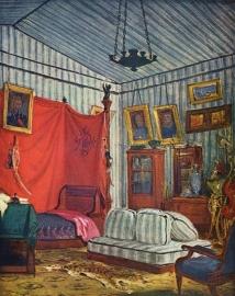 Delacroix, Slaapvertrek van de graaf van Mornay