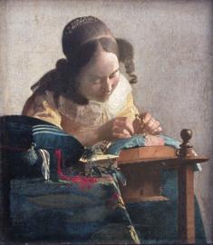 Vermeer, De kantwerkster
