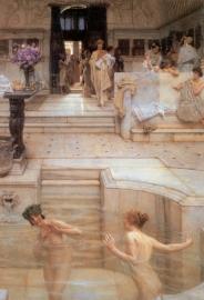 Alma-Tadema, Een favoriet gebruik