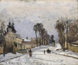 Pissarro, Weg naar Versailles is Louveciennes