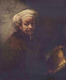 Rembrandt, Zelfportret als apostel Paulus