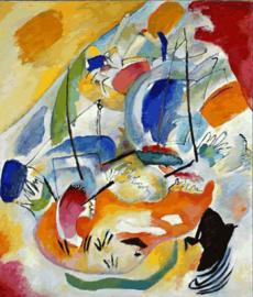Kandinsky, Improvisatie 31 (zeeslag)
