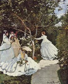 Monet, Vrouwen in de tuin