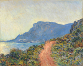 Monet, La Corniche bij Monaco