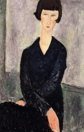 Modigliani, De zwarte jurk