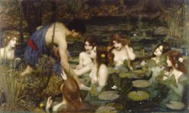 Waterhouse, Hylas en de nymfen