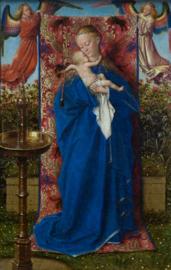 Van Eyck, Madonna bij de fontein