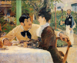 """Manet, In """"Pere Lathuille"""""""