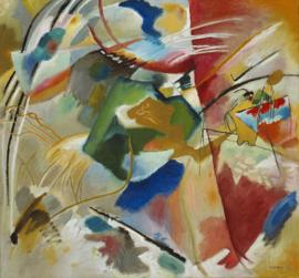 Kandinsky, Schilderij met groen centrum