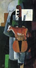 Malevich, Koe en viool