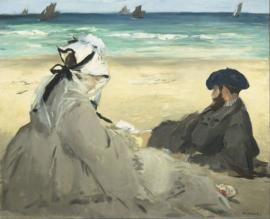 Manet, Aan het strand