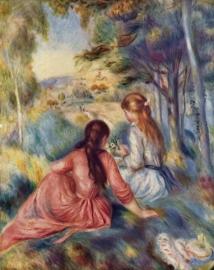 Renoir, Jonge meisjes op de weide