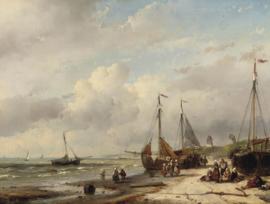 Schelfhout, Vissers en bomschuiten aan de Nederlandse kust