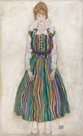 Schiele, Portret van Edith