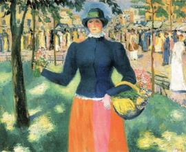 Malevich, Bloemenmeisje 2
