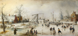 Avercamp, Een winterscene