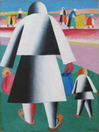 Malevich, Naar de oogst