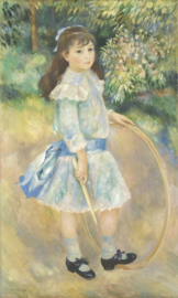 Renoir, Meisje met een hoepel