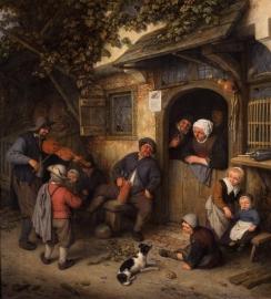 Van Ostade, De vioolspeler