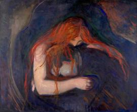 Munch, Liefde en pijn (vampier)