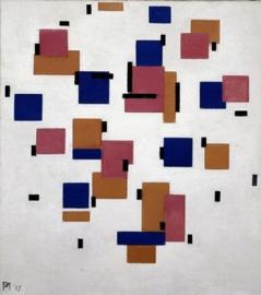 Mondriaan, Compositie in kleur B