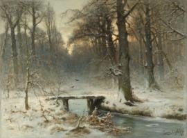 Apol, Een januari-avond in het Haagse Bos