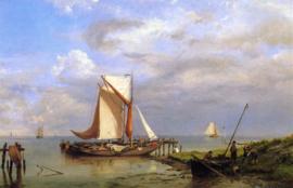 H. Koekkoek, Op de Schelde