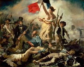 Delacroix, Liberty leidt het volk