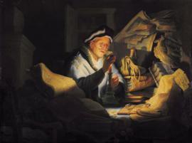 Rembrandt, De gelijkenis van de rijke dwaas