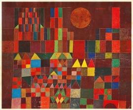 Klee, Burcht en zon