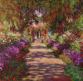 Monet, Tuinpad in Giverny