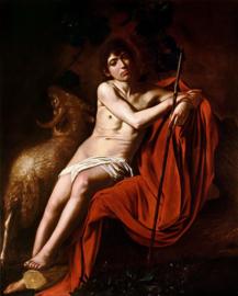 Caravaggio, Johannes de Doper 2