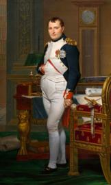 David, Napoleon in zijn studeerkamer