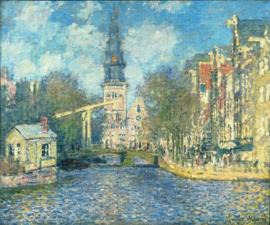 Monet, De Zuiderkerk in Amsterdam