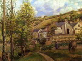 Pissarro, Landschap bij Pontoise
