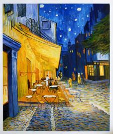Van Gogh, Cafeterras bij nacht, Place du Forum